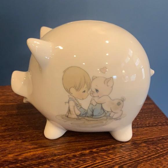 Precious Moments Piggy Bank vintage 1985